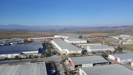 Picture of the Kleemann factory complex in Kilkis, Greece