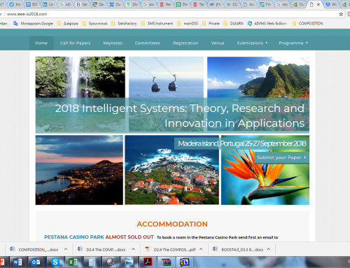 COMPOSITION at Connected Smart Factories Workshop this September in Madeira
